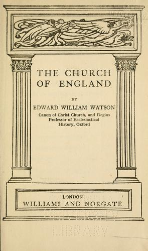Download The Church of England