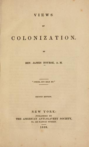 Download Views of colonization.