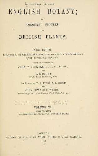 Download English botany, or, Coloured figures of British plants