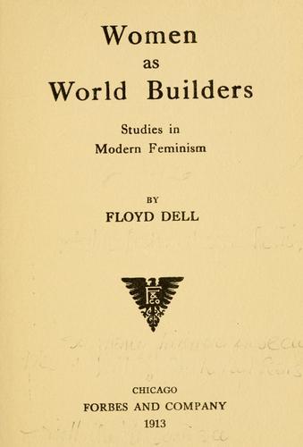 Women as world builders