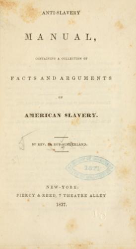 Download Anti-slavery manual