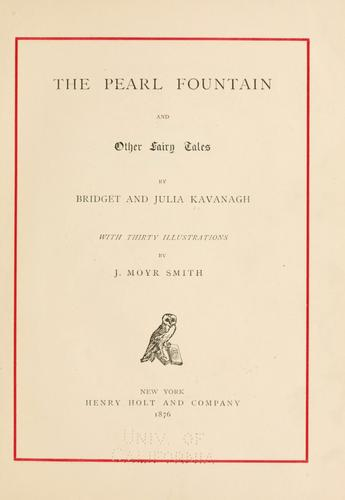 The pearl fountain, and other fairy tales