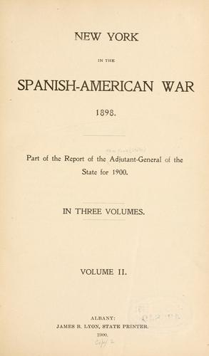 Download New York in the Spanish-American war 1898.