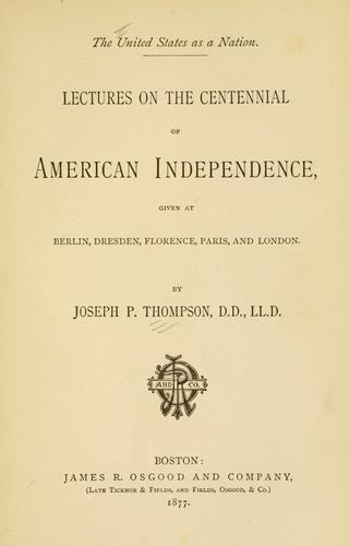 Download The United States as a nation