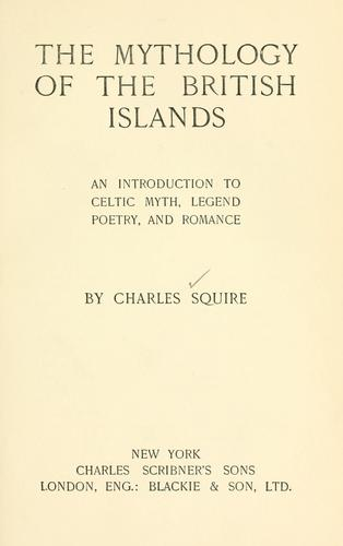 Download The mythology of the British Islands