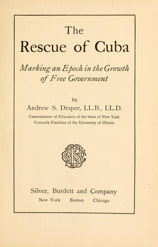 The rescue of Cuba