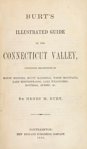 Download Burt's illustrated guide of the Connecticut valley