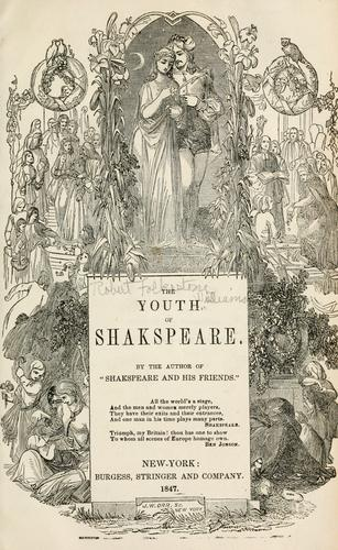 Download Youth of Shakspeare.