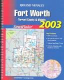 Rand McNally Streetfinder Fort Worth Texas