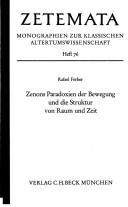 Download Zenons Paradoxien der Bewegung und die Struktur von Raum und Zeit