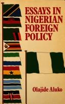 Essays on Nigerian Foreign Policy