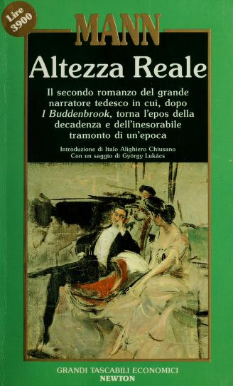 Cover of: Altezza reale | Thomas Mann