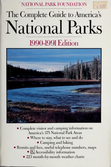 Cmplt Gd Amer Park by National Park Foundation