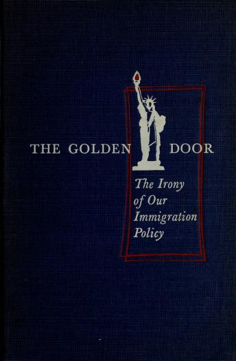 Cover of: The golden door   J. Campbell Bruce