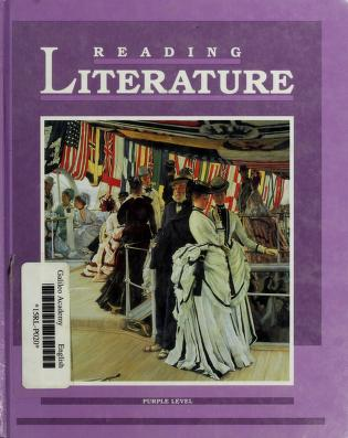 Cover of: Reading Literature Purple Level | Marlyn Sherman