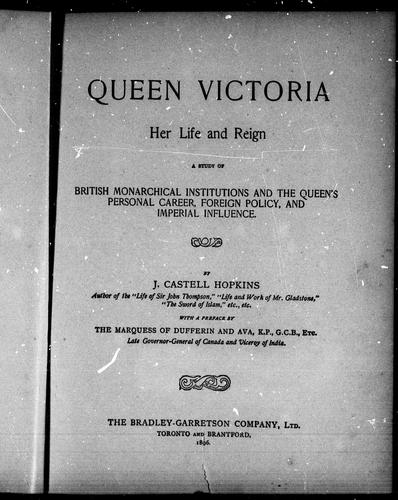 Queen Victoria by J. Castell Hopkins
