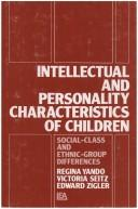 Intellectual and personality characteristics of children