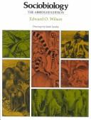 Sociobiology by Edward Osborne Wilson