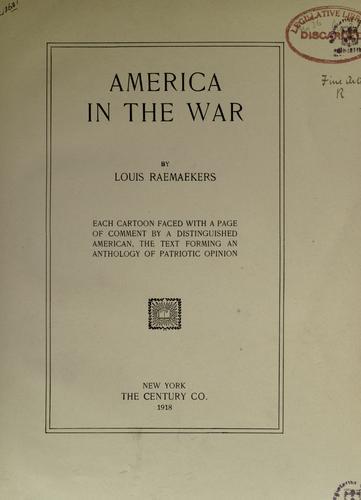 America in the war