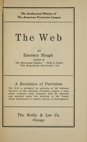 The web by Emerson Hough
