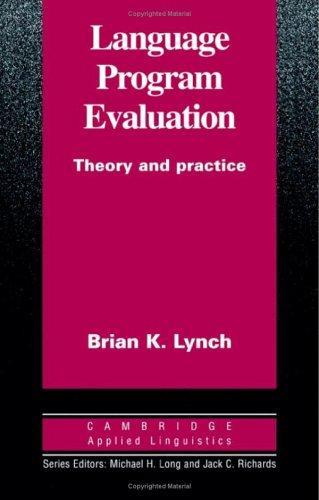 Language Program Evaluation