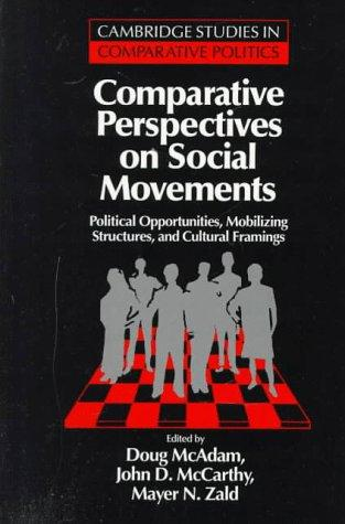 Image 0 of Comparative Perspectives on Social Movements: Political Opportunities, Mobilizin