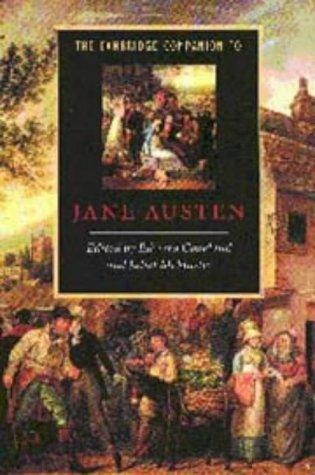 The Cambridge companion to Jane Austen by edited by Edward Copeland and Juliet McMaster.