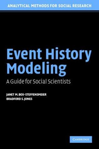 Event history modeling by