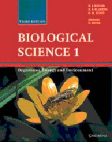 Biological Science 1 by N. P. O. Green, G. W. Stout, D. J. Taylor