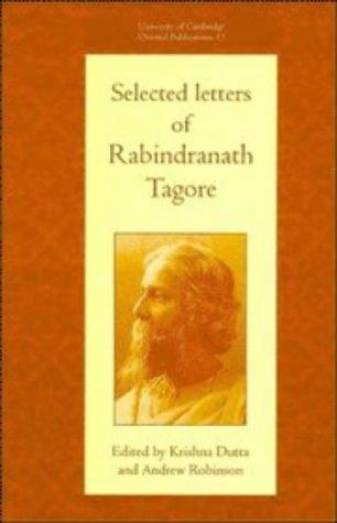 Selected letters of Rabindranath Tagore by Rabindranath Tagore