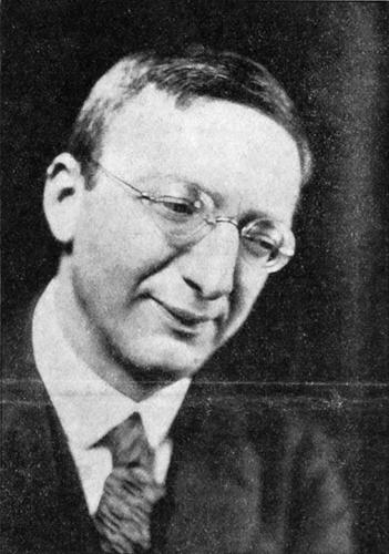 Photo of Alfred Döblin
