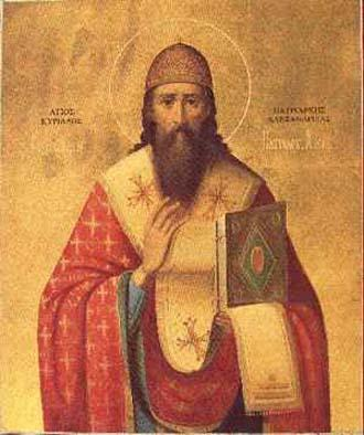 Photo of Cyril Saint, Patriarch of Alexandria