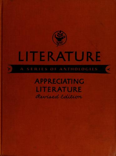 Literature: a series of anthologies by E. A. Cross