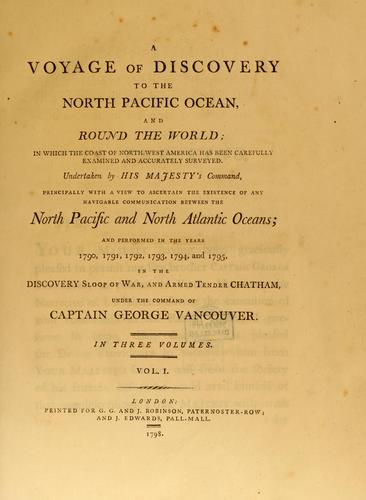A voyage of discovery to the North Pacific ocean.