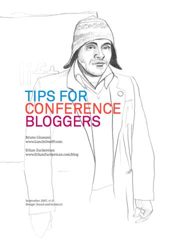 Tips for Conference Bloggers by
