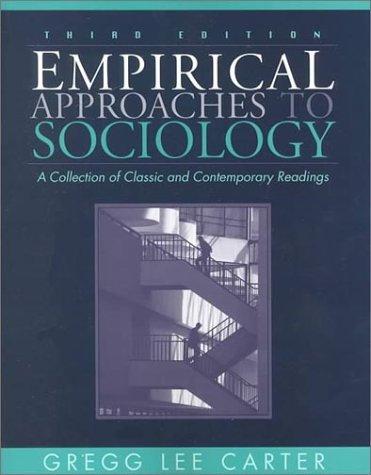 Empirical Approaches to Sociology