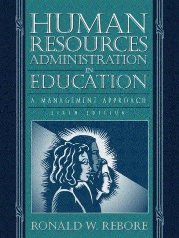 Human resources administration in education