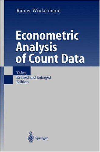 Econometric Analysis of Count Data