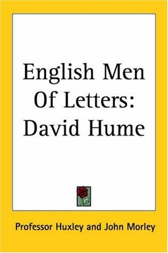 English Men Of Letters by Professor Huxley