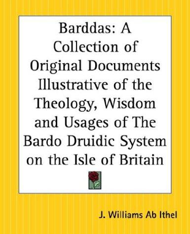 Barddas by J. Williams Ab Ithel