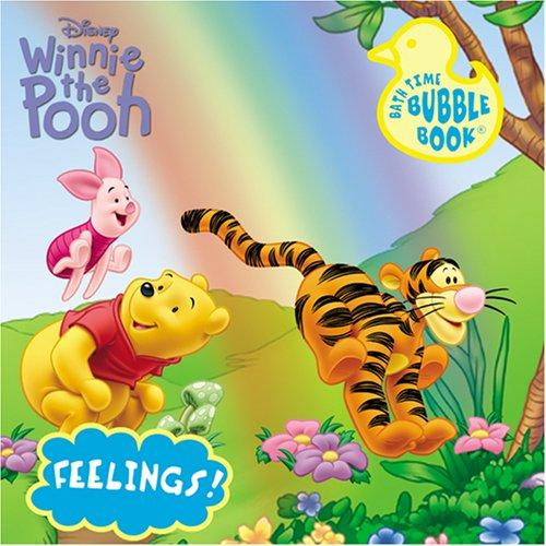 Disney Winnie the Pooh Bath Book Feelings (Disney Bath Time Bubble) by Modern Publishing