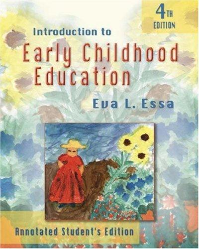 Introduction to early childhood education