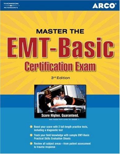 Master the EMT Basic Certification Exam by Santa Maria