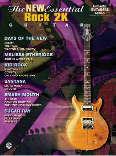 The New Essential Rock 2K Guitar (Authentic Guitar-Tab) by Various Artists