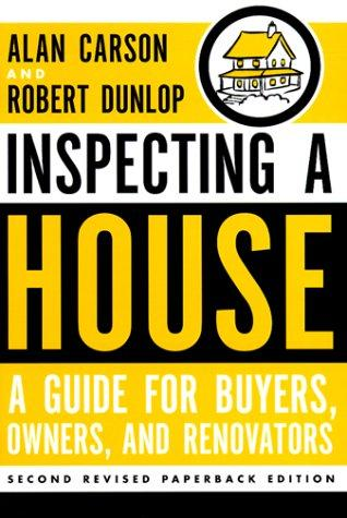 Inspecting a house by Alan Carson