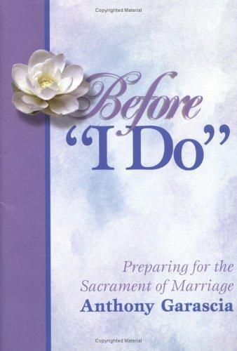 """Before """"I do"""""""