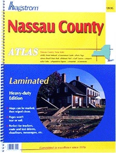 Nassau County Atlas by Hagstrom Map latest edition
