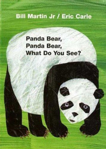Panda Bear, Panda Bear, What Do You See? Board Book by Bill Martin, Eric Carle