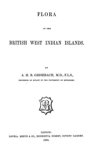 Flora of the British West Indian islands