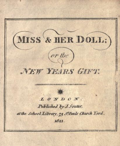 Miss & her doll, or, The New Years gift by